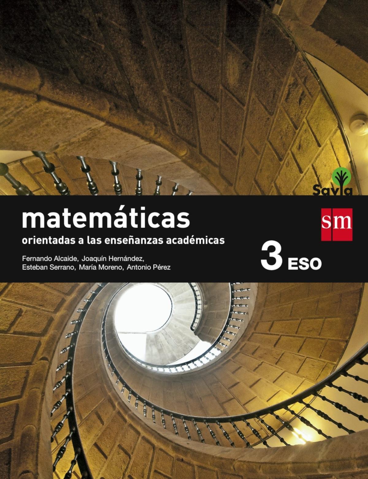 Libros Matemáticas Académicas 3º Eso Recomendados 2021
